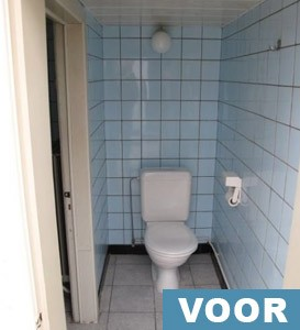 badkamerrenovatie voor 1