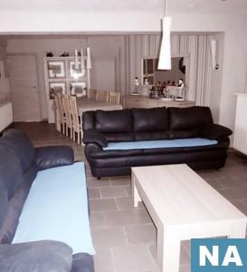 renovatie van woonkamer